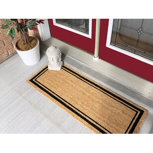 Olga Border Large Coir Double Doormat