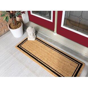 Delicieux Olga Border Large Coir Double Doormat