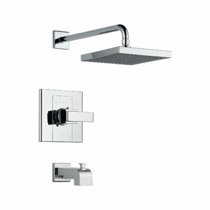 Arzo Tub and Shower Faucet Trim with Lever Handles
