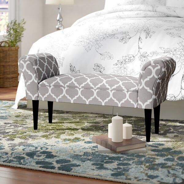 Wayfair & Busby Vanity Arm Upholstered Bedroom bench