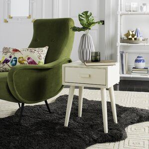Creel End Table With Stora..