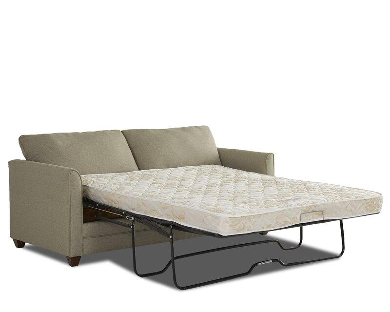 wayfair custom upholstery sarah sleeper sofa reviews. Black Bedroom Furniture Sets. Home Design Ideas