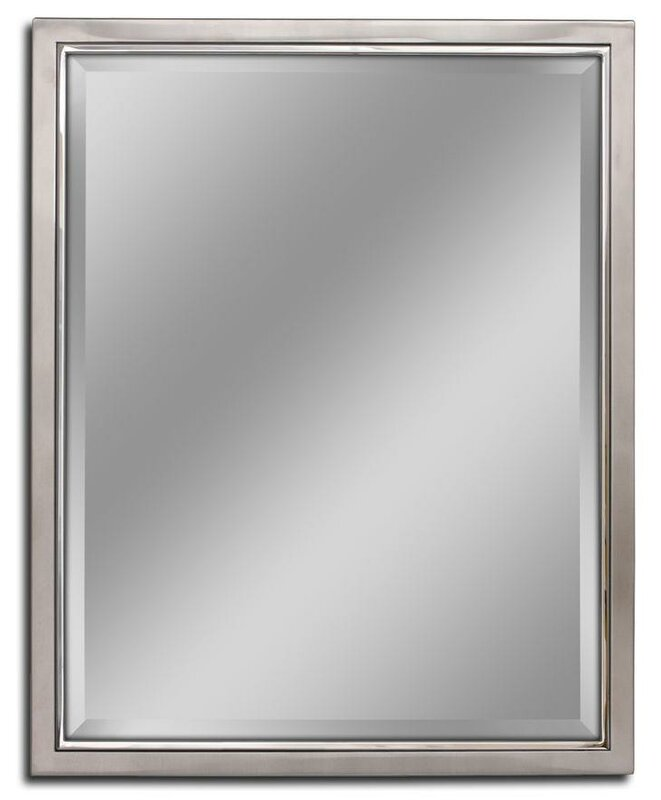 metal framed mirrors bathroom barrel studio kennith classic metal framed bathroom 19449