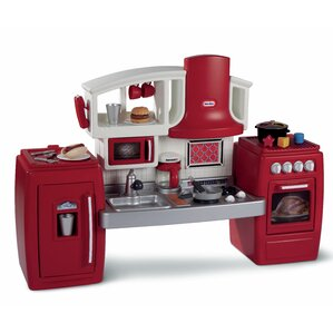 Little Tikes Play Kitchen With Grill little tikes play kitchen sets you'll love   wayfair
