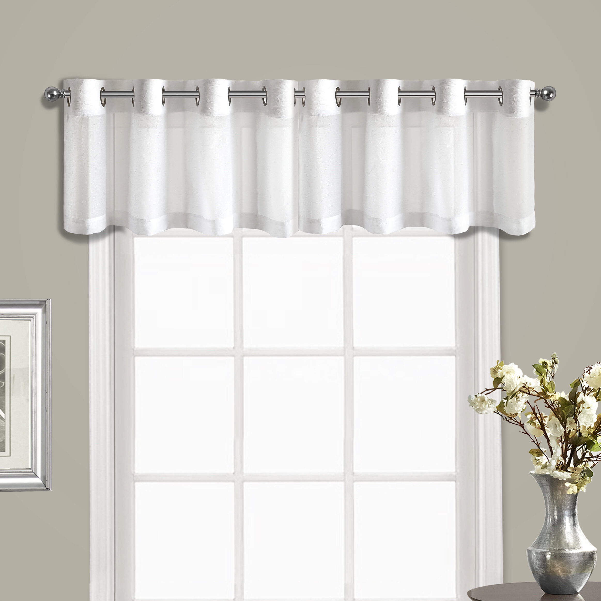 United Curtain Co Venetian Topper 1 Pieces Valance Reviews