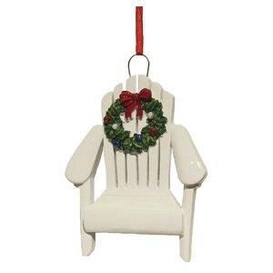 Resin Adirondack Chair Ornament