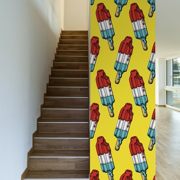 Rocket Pop Wallpaper | Wayfair