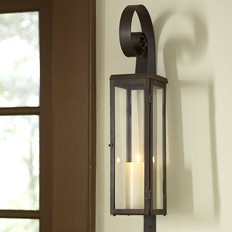Wonderful Scroll Candle Sconce