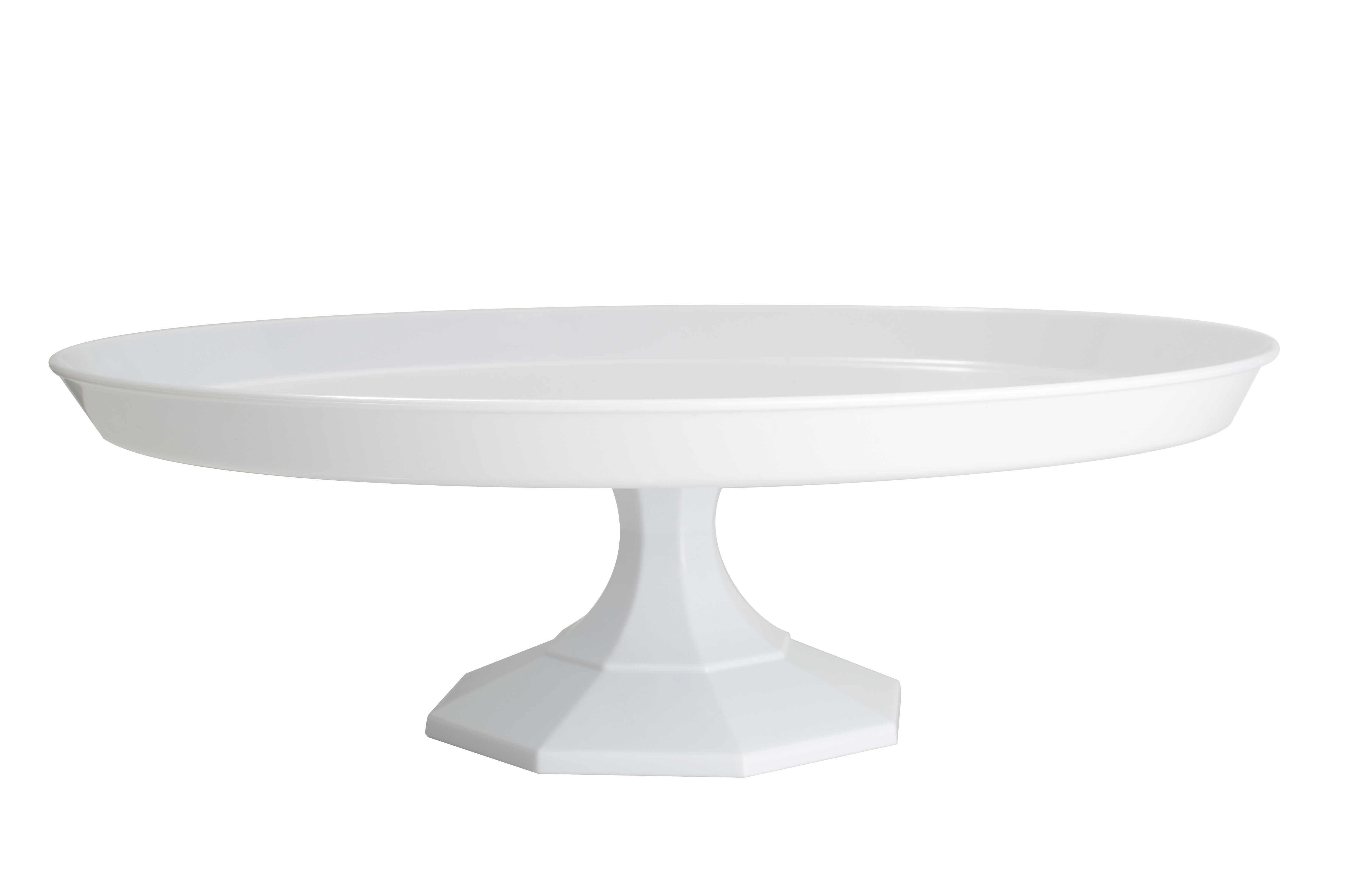 Fineline Settings, Inc Platter Pleasers Round Cake Stand & Reviews on