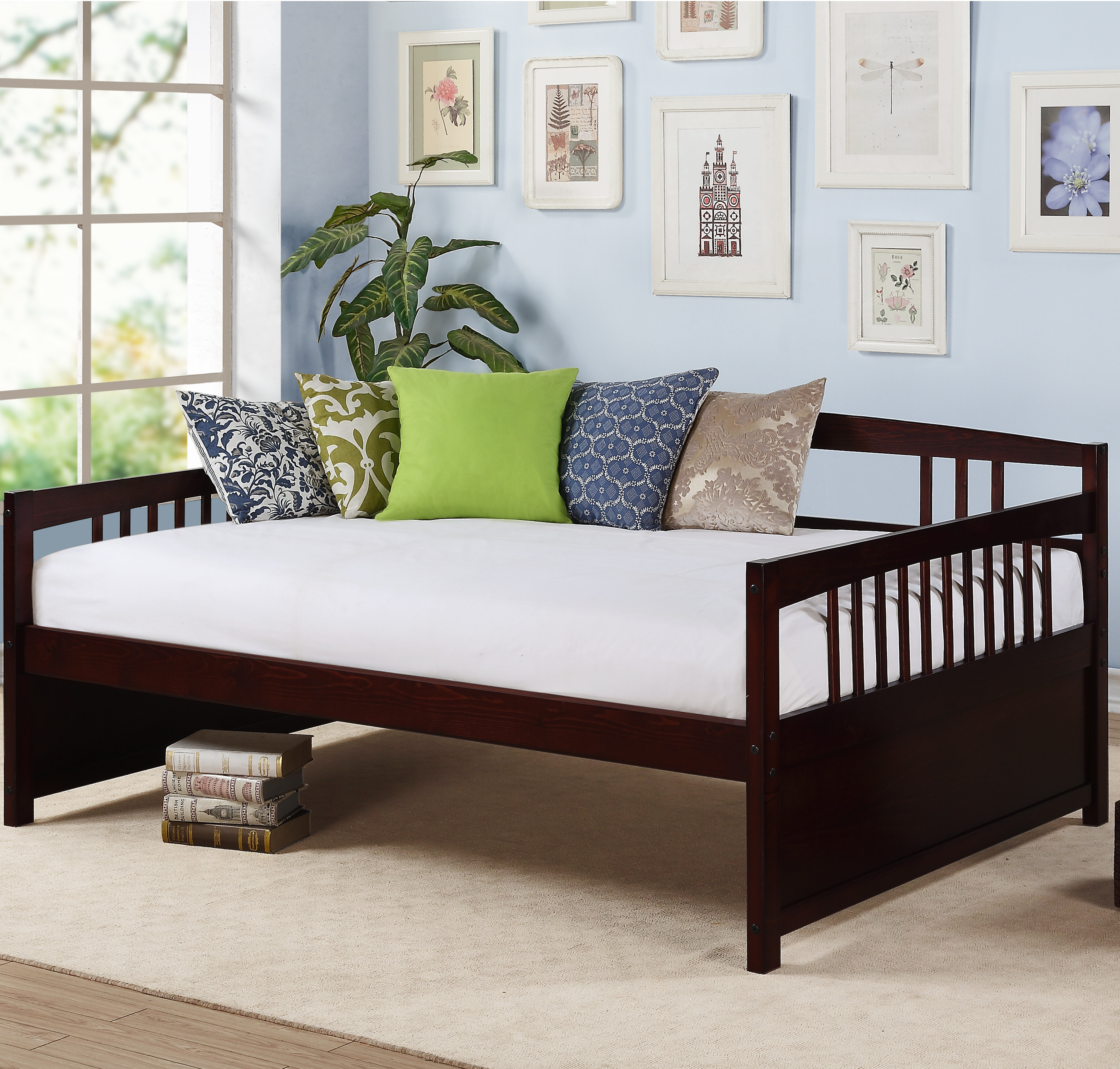 and couch dining dillan com amazon with microfiber convertible upholstery wood futon kitchen dp bed dhp tan legs