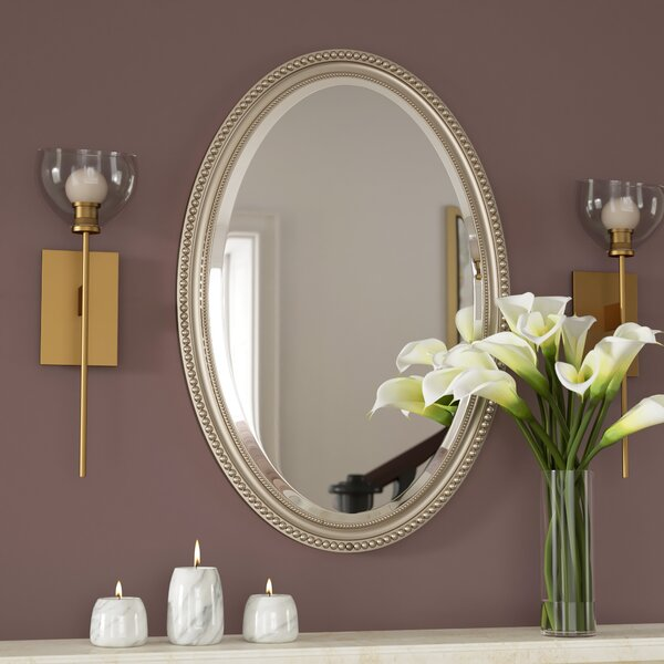 Rosdorf Park Oval Metallic Accent Mirror Amp Reviews