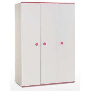 Mia 3 Door Wardrobe by Arthur Berndt