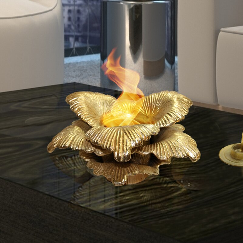 Chatsworth Botanical Gel Fuel Tabletop Fireplace