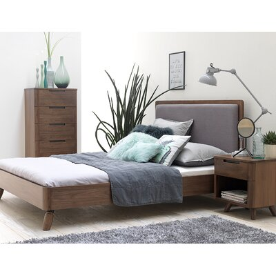 Cottle Upholstered Platform Bed Corrigan Studio Size: Queen Size