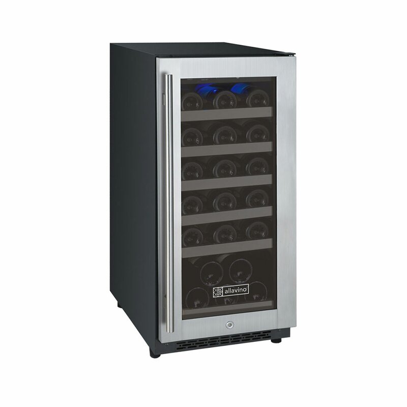 Allavino 30 Bottle Flexcount Series Single Zone Freestanding Wine Cooler