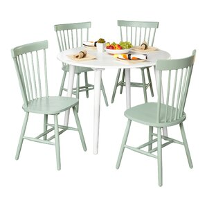 Vanessa 5 Piece Dining Set by Zipcode Design