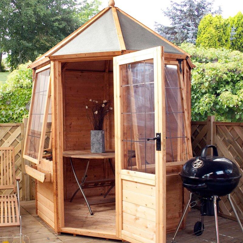 Mercia Garden Products 6 X 6 Ft. Octagonal Summer House