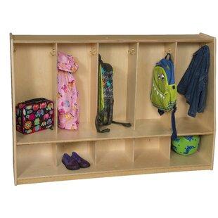 Healthy Kids 5 Section Coat Locker