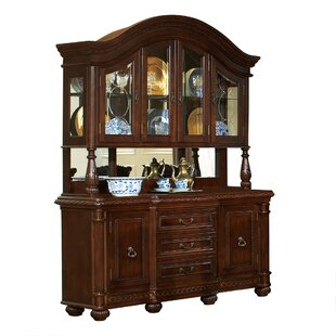 Antoinette Buffet and Hutch in Multi-Step Rich Cherry