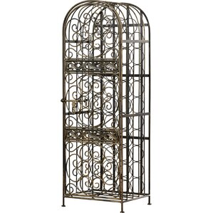 Cutshall 45 Bottle Floor Wine Rack by Three Posts