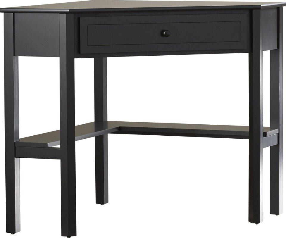 Anka 1 Drawer Corner Writing Desk Amp Reviews Birch Lane