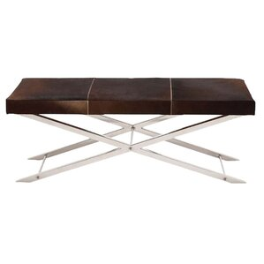 Artisan Leather Bench by Fashion N You by..