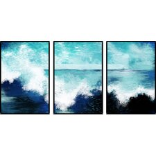 3 Piece Wall Art Set modern 3 piece wall art | allmodern