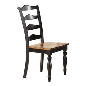 Wappinger Solid Wood Dining Chair (Set of..