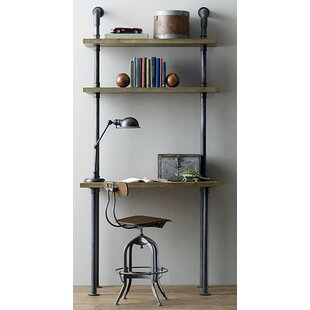 leaning ladder desks you ll love wayfair rh wayfair com Ladder Shelving Units with Desk ladder shelves with desk uk