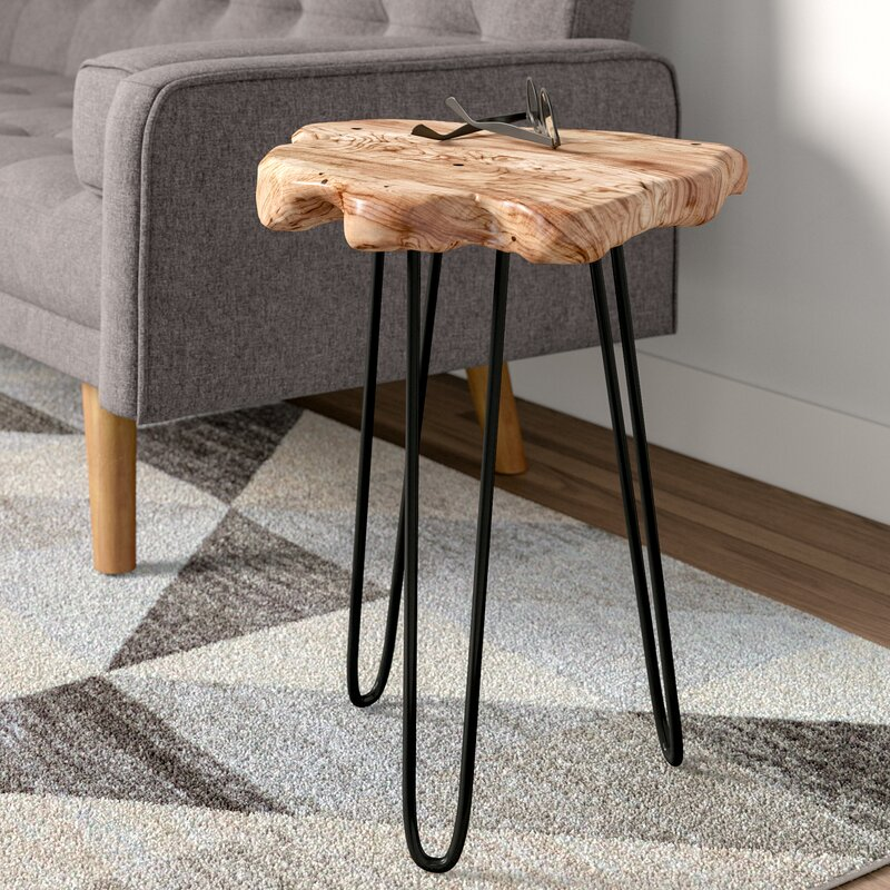Welland Industries Llc Cedar Wood End Table Reviews Wayfair