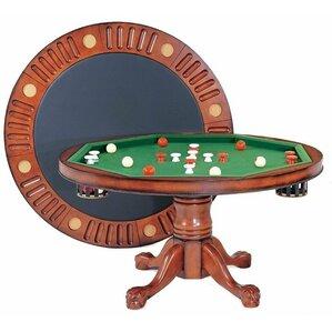 Delightful Round Bumper Pool 4.5u0027 Game Table