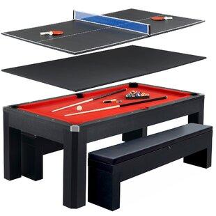 Superieur Park Avenue 10 Piece 7u0027 Pool Table Combo Set