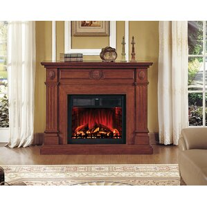 Hampton Electric Fireplace by Lanza