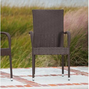 Morgan Stacking Patio Dining Chair (Set of 4)