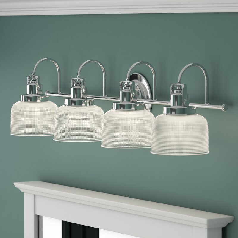 Beachcrest Home Gotha 4 Light Vanity Light Amp Reviews