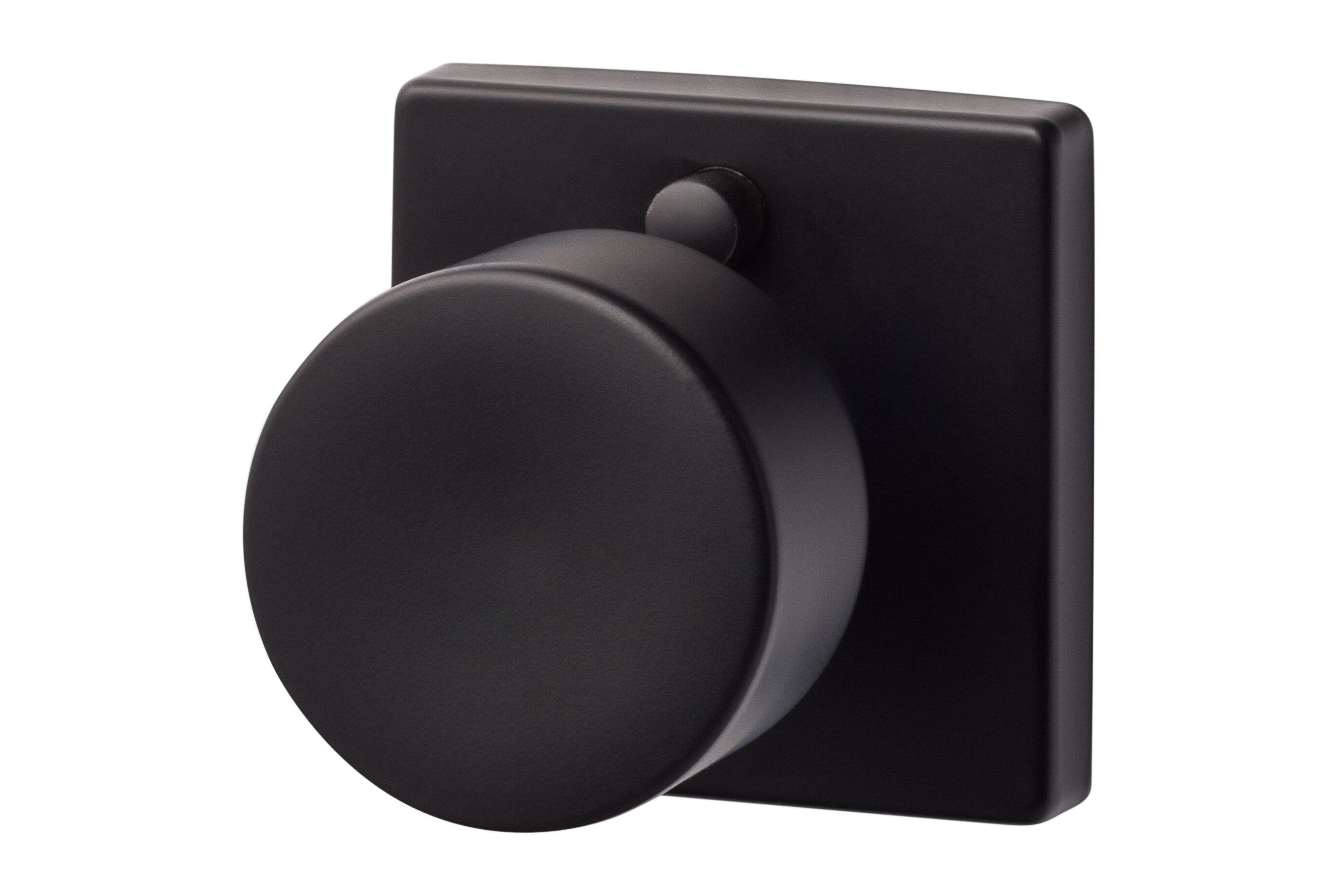 Sure LocHardware Bergen Privacy Door Knob With Square Rosette U0026 Reviews |  Wayfair