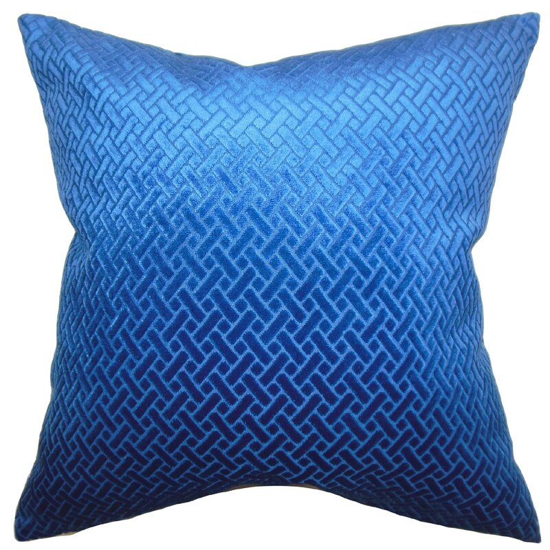 brielle solid throw pillow cover - The Pillow Collection