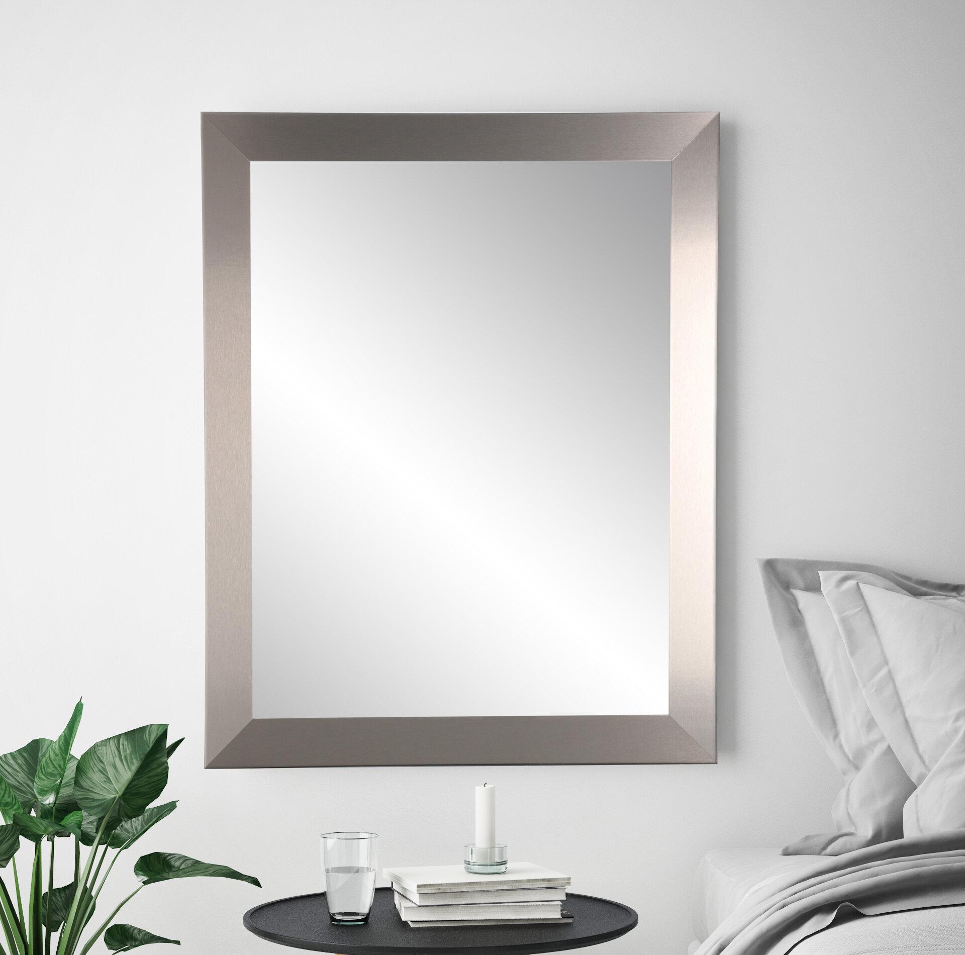 Orren Ellis Olivia Industrial Modern Home Accent Wall Mirror Reviews