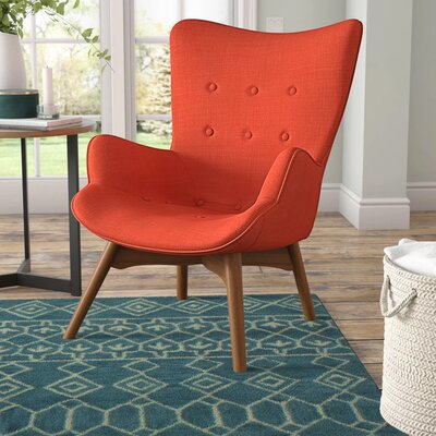 Lounge Orange Accent Chairs You Ll Love In 2019 Wayfair