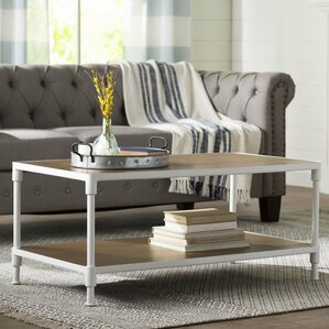 Neivial Coffee Table by Gracie Oaks