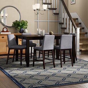 Sevoian 7 Piece Counter Height Dining Set
