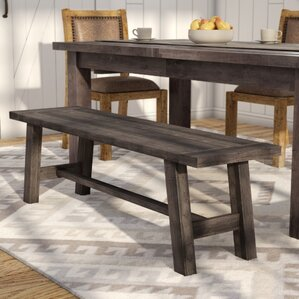 Colborne Wood Dining BenchFind The Best Kitchen   Dining Benches   Wayfair. Dining Table With Benches. Home Design Ideas