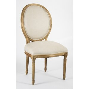 Medallion Upholstered Dining Chair by Zentique Inc.