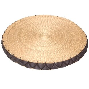 Contemporary Round Cushion Decorative Object