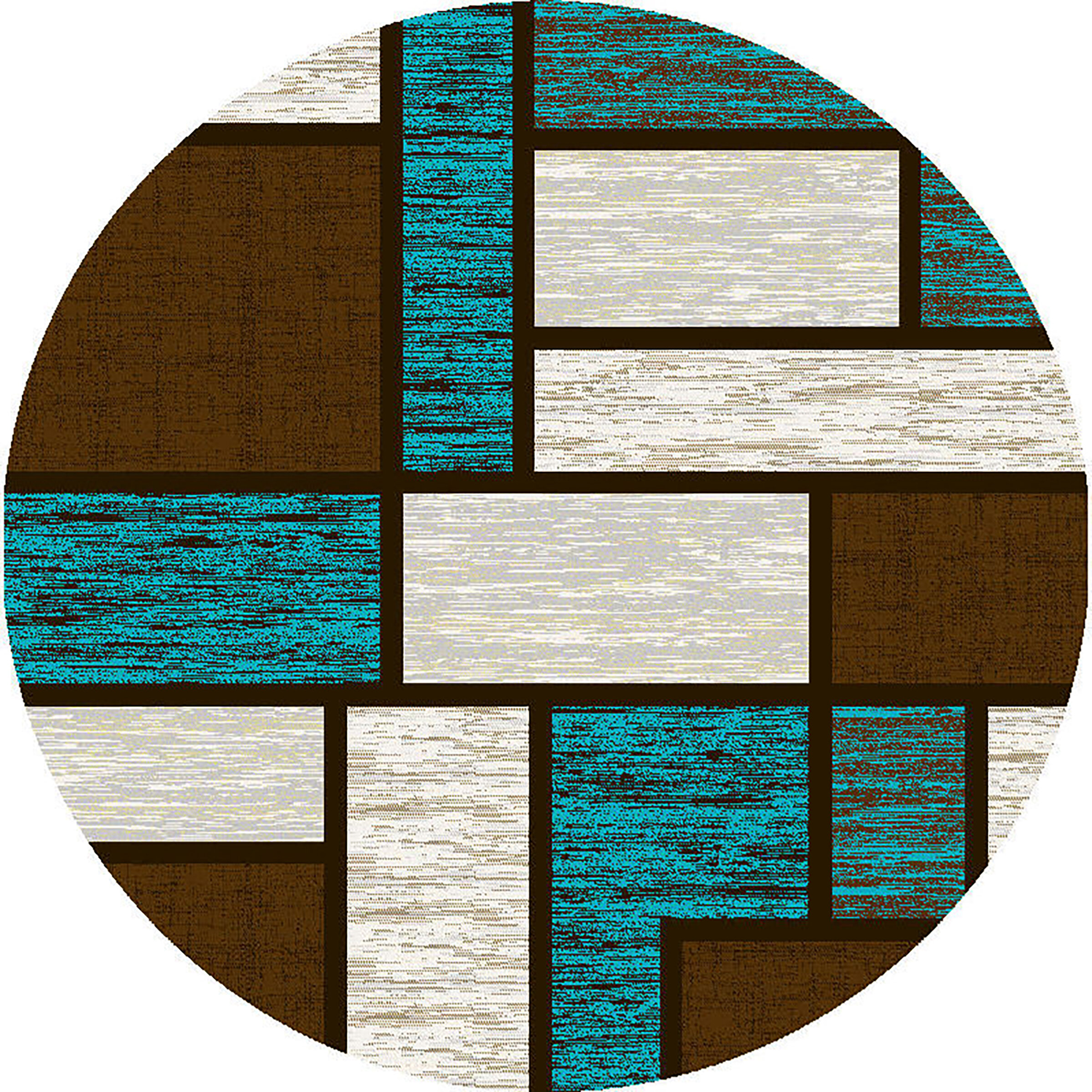 Bronx Blue Bedroom Project: Ivy Bronx Mccampbell BlueBrown Area Rug