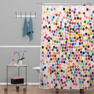 Barone Dance 3 Single Shower Curtain