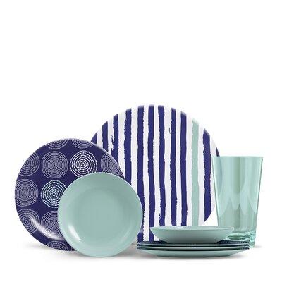 Ingrassia 16 Piece Melamine Dinnerware Set Service for 4  sc 1 st  Joss \u0026 Main & Ingrassia 16 Piece Melamine Dinnerware Set Service for 4 \u0026 Reviews ...