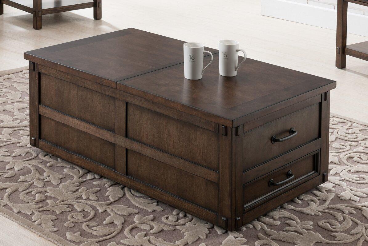 Drogo Coffee Table With Storage