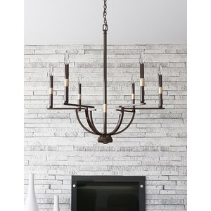 Jamil 6-Light Candle-Style Chandelier