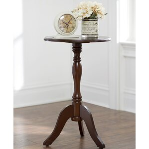 Pedestal Base End U0026 Side Tables Youu0027ll Love | Wayfair